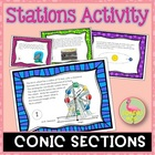 PreCalculus: Analytic Geometry (Unit 8) Conics Stations Activity