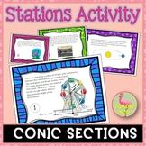 PreCalculus: Analytic Geometry (Unit 8) Conics Stations Activity