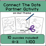 Connect The Dots, Communicative Partner Activity, Alphabet