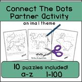 Connect The Dots, Communicative Partner Activity, Alphabet