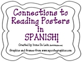 Connections to Reading {Posters in SPANISH!!}