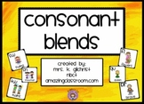 Consonant Blends Interactive Promethean Flipchart Lesson