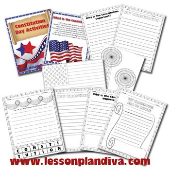 Constitution Day Activities and Printables