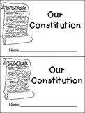 Constitution Day- Very EASY Emergent Reader- Kindergarten