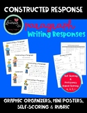 Constructed Response Writing Plan, Graphic Organizer, Scor