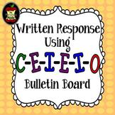 Written Response Using C-E-I-E-I-O Bulletin Board