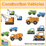 Construction Vehicles Clip Art