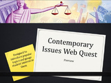 Contemporary Issues WebQuest