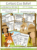 Context Clue Safari Skill Set for Second, Third and Fourth Grades