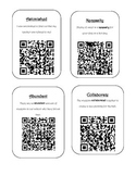 Context Clues QR Code Activity