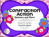 Contraction Spelling Common Core ELA-L.1.1, L.2.2c, L.3.6,