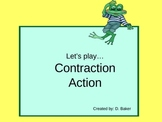 Contractions Action Power Point Presentation