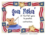 Contractions - Goin' Fishin' Game