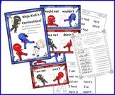 Contractions: Ninja Kickin Contractions