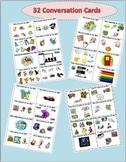 Conversation Cards- What do you like?  ESL