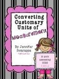 Converting Customary Units quiz