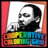 Cooperative Coloring Grid - Martin Luther King Jr.