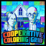 Cooperative Grid Art - American Gothic