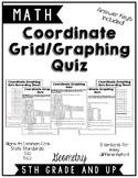 Coordinate Graphing Quiz