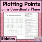 Coordinate Grid Riddles (First Quadrant) 5.G.1