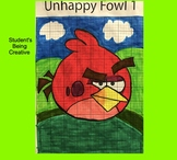 Coordinate Plane Pictures (Angry Bird 1)