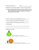 Core Science Standards Review Quiz or Worksheet for 7th Grade