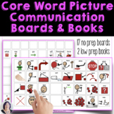 Core Words to Go - Picture Communication AAC autism Revise