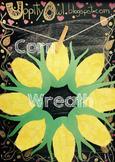 Corn Wreath - Craft Kit