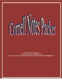 Cornell Notes Printable Packet