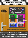 School Counseling Psychology Door Decoration Back to Schoo