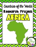 Countries of the World | Africa {Research Project}