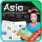 Country Bundle (Asia: China, India, Japan, Thailand, North