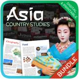 Country Bundle (Asia: China, India, Japan, Thailand, North