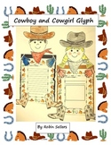 Cowboy and Cowgirl Glyph