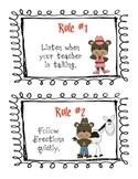 Cowboy/Wild West Classroom Rules