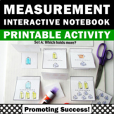 Measurement Measuring Cups Pints Gallons Interactive Noteb