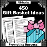 Back to School Activities Fundraising Student Council Spec