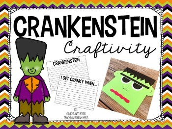Crankenstein Craftivity and Writing Prompt {Freebie!}