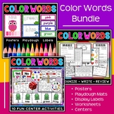 Color Words Bundle