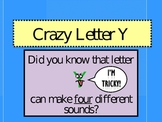 Crazy Letter Y Slideshow
