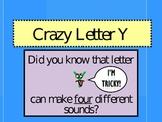 Crazy Letter Y Slideshow