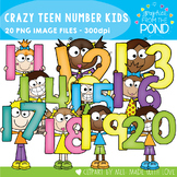 Crazy Number Kids - 11 to 20