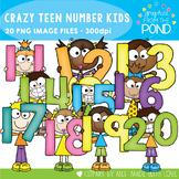 Crazy Number Kids - 11 to 20