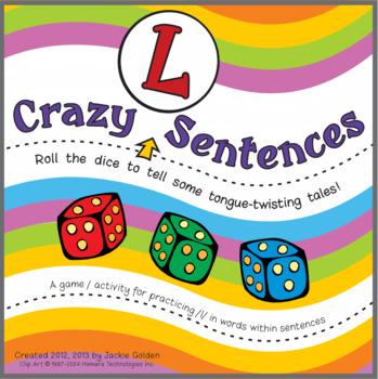 """Crazy /l/ Sentences"" Speech Artic Activity"