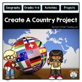 Create Your Own Country Project for Grades 4-6