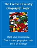Create-a-Country Geography Skills Project - SCALABLE