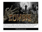 Zombie style text effect with Photoshop CS3, CS4, or CS5