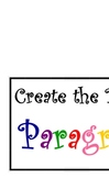 """Create the Perfect Paragraph"" Bulletin Board Posters"