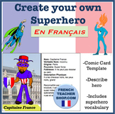 French Superhero Project