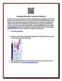 Creating a QR Code for Teachers and Students